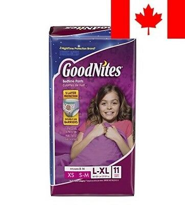 Goodnites Underwear for Girl, Large/Extra Large, Jumbo Pack, 11-Count