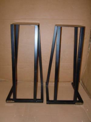 Apollo British Metal Speaker Stands-Spiked-Made in UK-61cm.