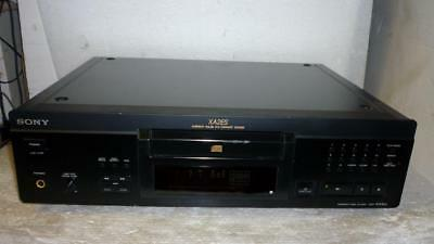 Sony CDP-XA2ES TOP RANGE CD PLAYER WITH REMOTE-Made in Japan-Superb Sound.