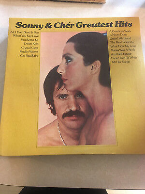 Original Vinyl Record **Sonny & Cher Greatest Hits** 1974