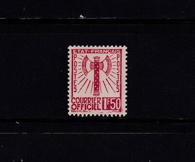 France Timbre Service Neuf(**) Tbe N° 8 1943