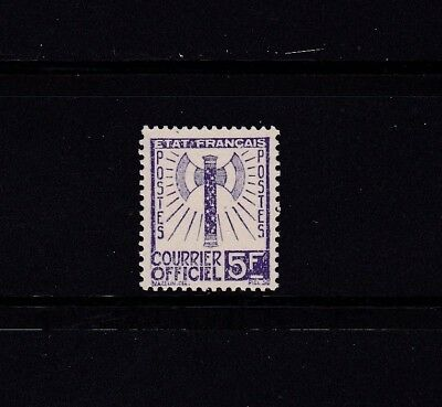France Timbre Service Neuf(**) Tbe N° 12 1943