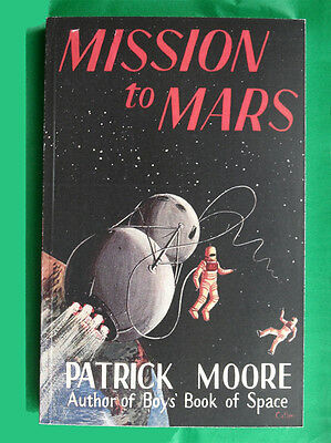 Mission To Mars Patrick Moore Quality Facsimile  Of A Vintage Sci-Fi Classic