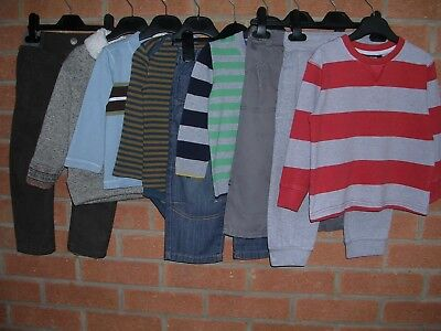 NEXT GEORGE GAP M&S etc Boys Bundle Shirts Jeans Tops Jumpers Age 18-24m