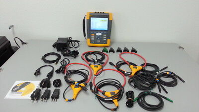 Fluke 435-II Power Quality Analyzer, 3 Phase W/ Factory Cal