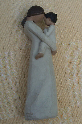 Stunning Willow Tree Demdaco Figure - Tenderness - Mother And Young Child
