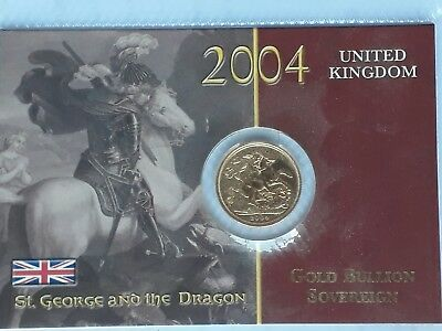 2004 FULL GOLD SOVERIEN  **sealed ** UNCIRCULATED