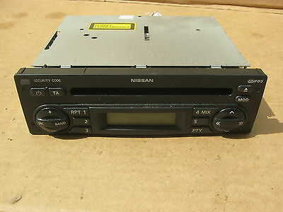 Nissan Note Cd Player