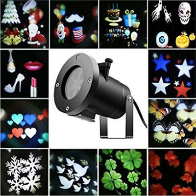 Laser Fairy Light Projection Projector Christmas Outdoor Landscape LED Lamp UK