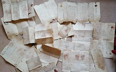 Indentures and legal documents. Leeds area. 1744-1867
