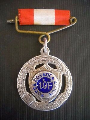 Unusual Silver Irish Army L.d.f. Medal 1944