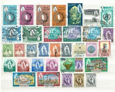 Bahrain A Nice Clean Selection Of Good Used-Fine Used Stamps
