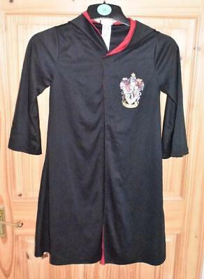 Tesco Childrens Age 5-6 Harry Potter Gryffindor Fancy Dress Costume Plus Wand