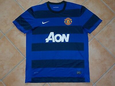 MANCHESTER UNITED Nike Away Trikot Soccer Shirt  2011 MAN UTD Football Jersey XL