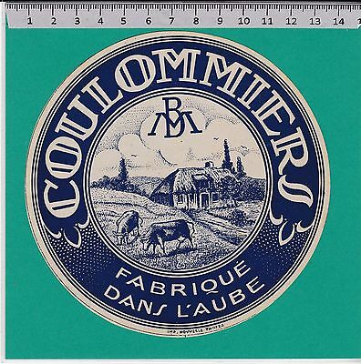 I1152 Fromage Coulommiers Aube