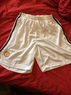 Adult XL Manchester United Home Shorts 2017/18