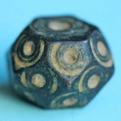 Islamic polyhedral bronze weight