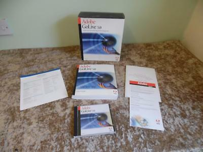 Apple Mac Adobe GoLive 5.0 Professional Web Authoring & Site Management BOXED