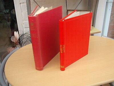 Stanley Gibbons Windsor Great Britain Stamp album 1965 & Senator album empty