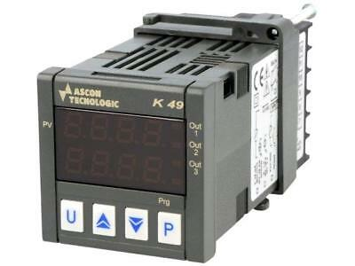 K49P-HCRR Module controller Controlled parameter temperature ASCON TECNOLOGIC