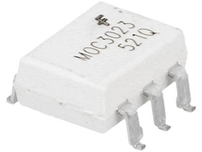 1000x MOC3023SR2M Optotriac 5kV Uout400V without zero voltage crossing