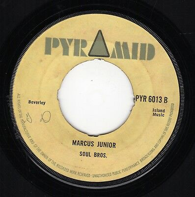 """ MARCUS JUNIOR. "" the soul bros.  PYRAMID 7in 1967."