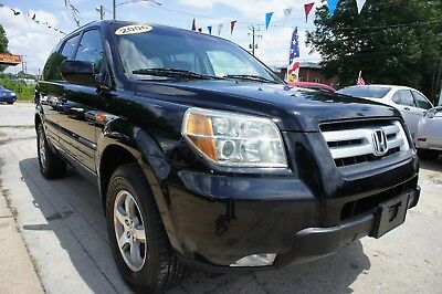 2006 Honda Pilot EX-L 2006 HONDA PILOT EX-L LEATHER DVD ALLOYS