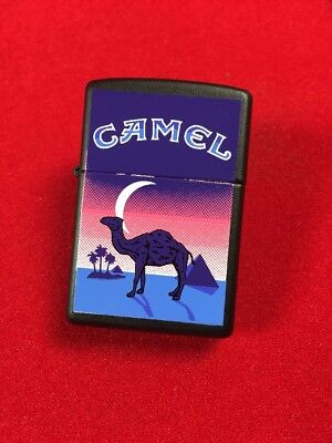 Camel Crescent Moon Extremely Rare Zippo Lighter Z174