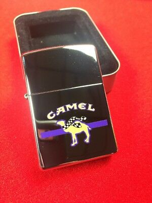 Camel Smokin Joe Racing Prototype Rare Z163 Zippo Lighter