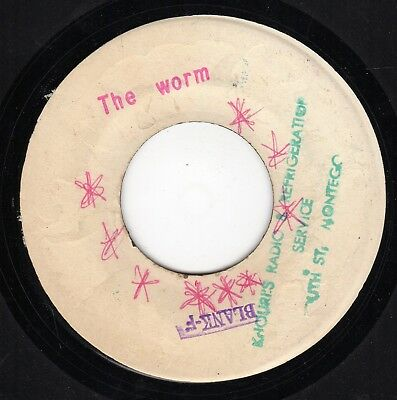 """ THE WORM. "" lloyd williams. LLOYD DALEY JA BLANK 7in 1970."