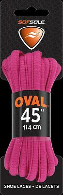 Bulk Wholesale Options Available 45in - 83963 Sof Sole Oval Shoelaces Pink