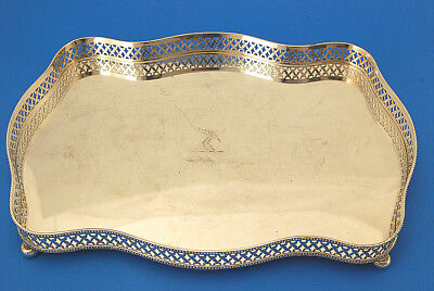 Art Deco Style Birks Silver Plate Galley Tray