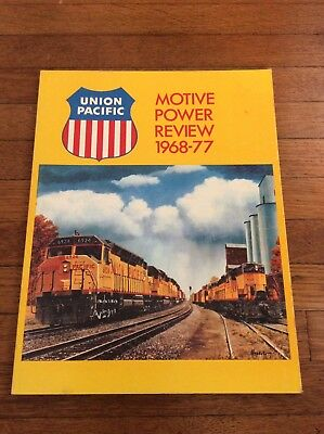 Union Pacific UP Motive Power Review 1976-1977