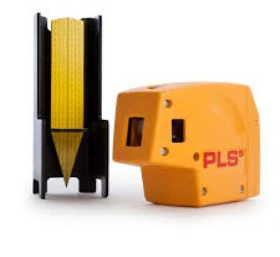 Pacific Laser Systems PLS5 PLS-60541 Laser Level Tool, Yellow