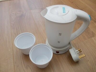 Boots 59-03-718 Dual Voltage Mini Travel Jug Kettle Hot Water Tea Electric