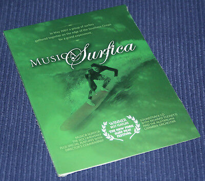 Musica Surfica - Surfing DVD - Brand New & Sealed