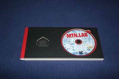 MTN LAB  - Ski Snowboard Research Centre DVD + Pin badge- Brand New & Sealed