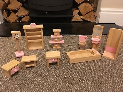 Dolls House Wooden Furniture