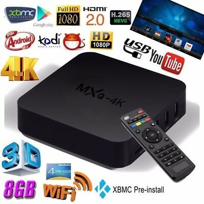 BOX 4K Android TV Box IPTV KODI WiFi Plus TVBOX HDMI SMART TV STREAMING online