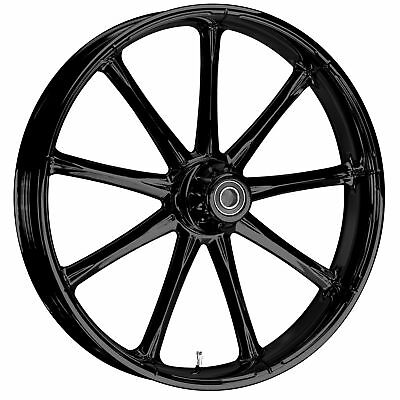 "WanaRyd WanaRyd Ion Blackline 19"" Wheel Tire Rotors 00-07 Harley Touring Bagger"