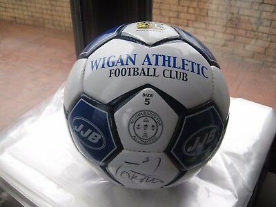Wigan Athletic Signed Football from Premier League 2005/2006