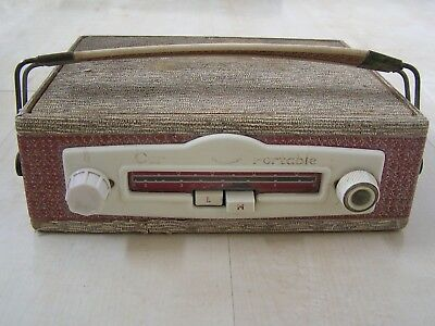Old Vintage Every Ready Car Portable Radio for spares or repair