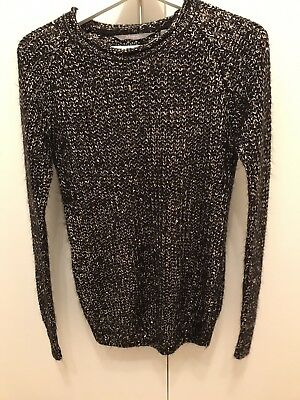 New Look Maternity Shimmery Jumper UK Size 8