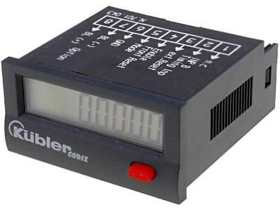 CODIX-LCP-2 Counter electronical working time Display LCD -10÷60°C KUBLER