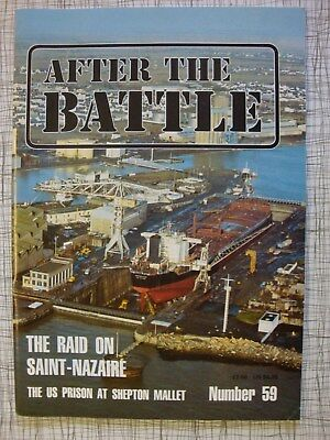 After The Battle # 59 (St Nazaire, HMS Campbeltown, Commando, Austria Anschluss)