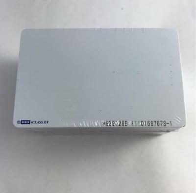 NEW 50 Pack HID iClass Cards 2000PGCMN-111407 H800002 Contactless Smart Cards