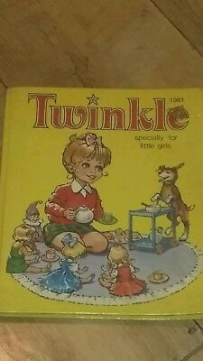 Vintage Twinkle Specially For Little Girls Annual Dated 1981