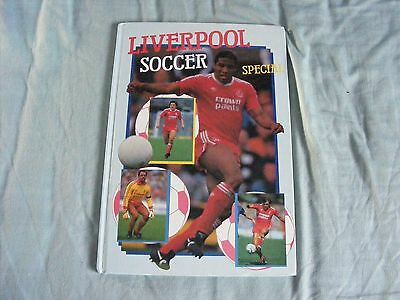 Liverpool F.c. Soccer Special Hardback Book 1988