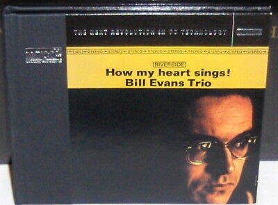 XRCD CD VICJ-60373: Bill Evans Trio - How My Heart Sings! - 1999 JAPAN OOP NM