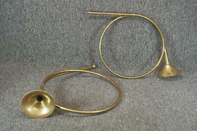 Set Of 2 Brass Handcrafted In India Bugle Displays